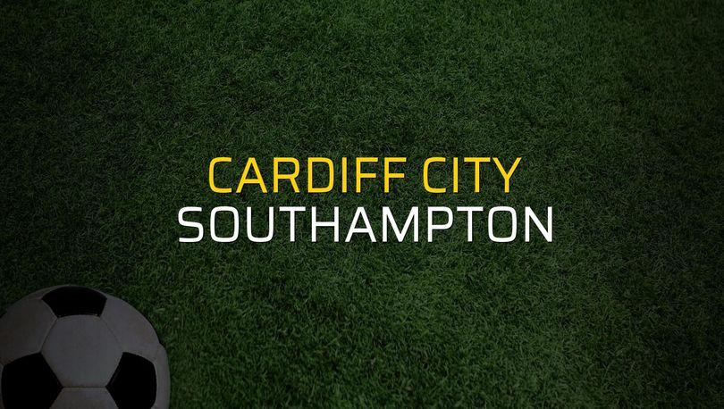 Cardiff City: 1 - Southampton: 0 (Maç sonucu)