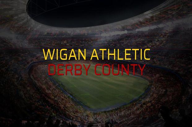 Wigan Athletic: 0 - Derby County: 1 (Maç sona erdi)