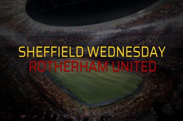 Sheffield Wednesday: 1 - Rotherham United: 0 (Maç sonucu)