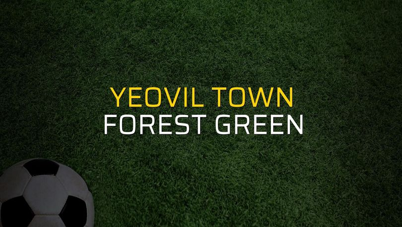 Yeovil Town: 0 - Forest Green: 0