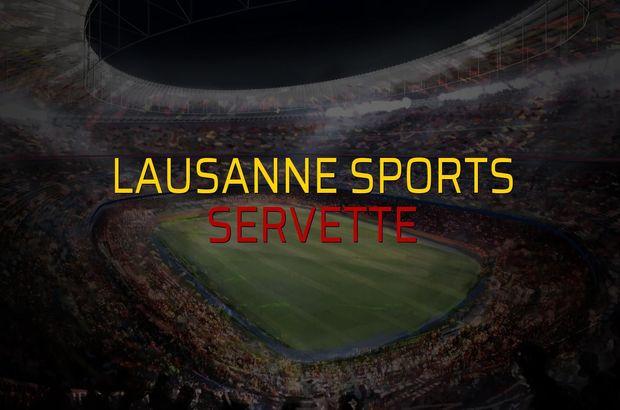 Lausanne Sports: 0 - Servette: 1