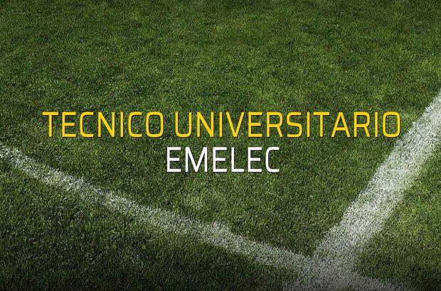 Tecnico Universitario: 1 - Emelec: 2