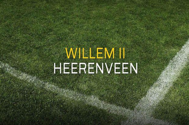 Maç sona erdi: Willem II: 1 - Heerenveen:5