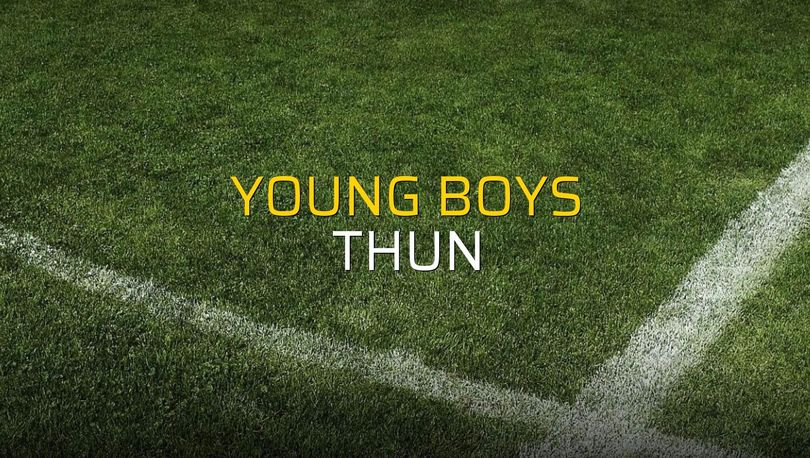 Young Boys: 3 - Thun: 2 (Maç sonucu)