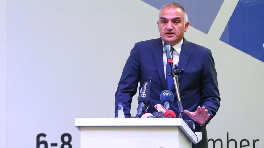 Kültür ve Turizm Bakanı Ersoy açıkladı: Turizmde hedef dünyada ilk beş!