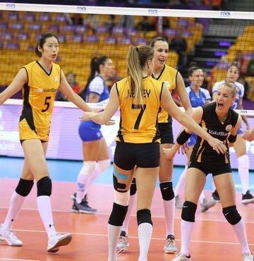 VakıfBank Kadın Voleybol Takımı, FIVB Dünya Kulüpler Şampiyonası finalinde Brezilya ekibi Minas
