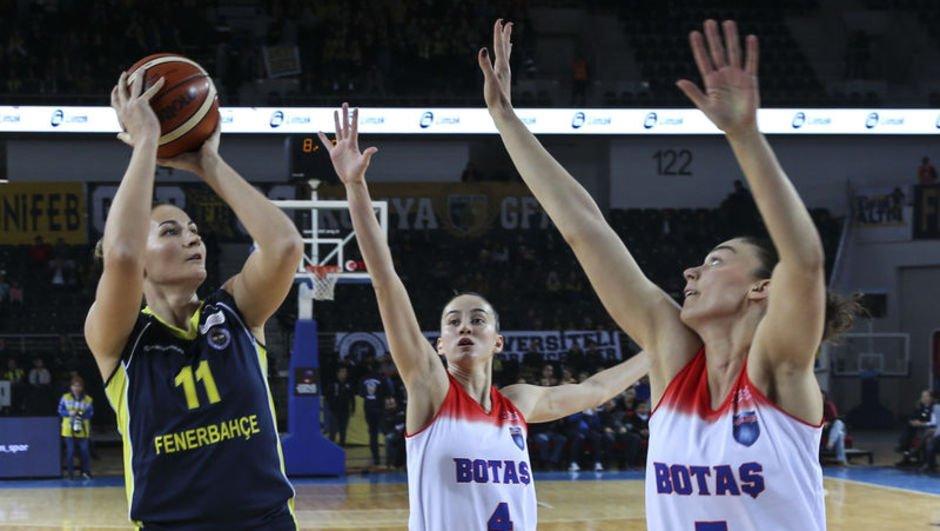 Fenerbahçe, BOTAŞ'ı devirdi
