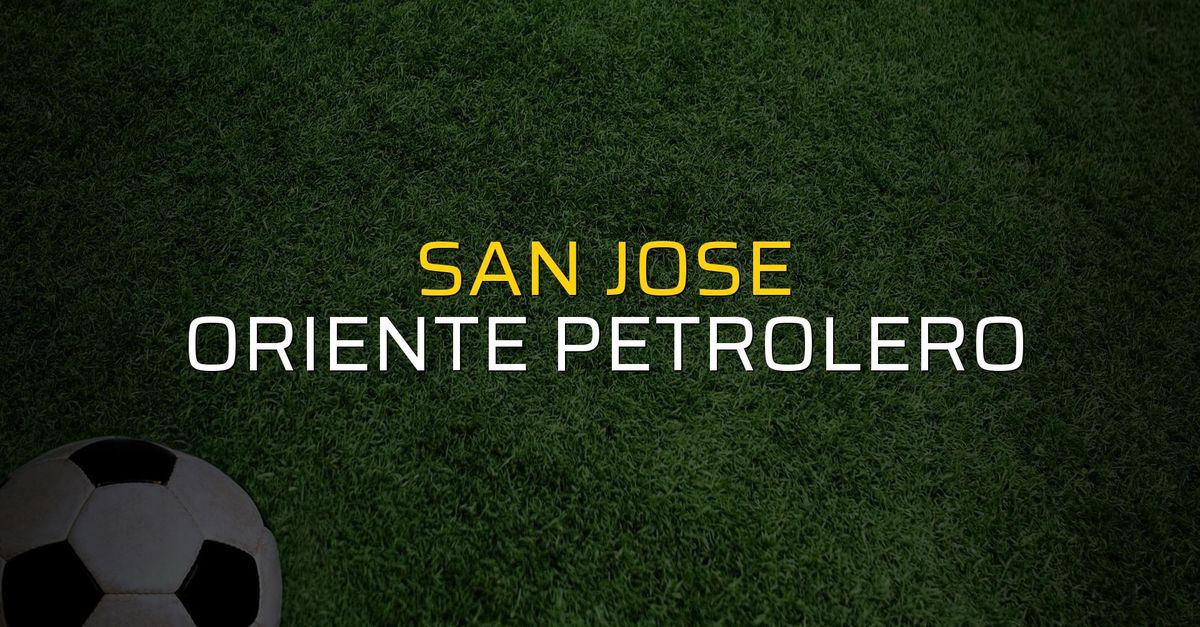 San Jose: 5 - Oriente Petrolero: 0