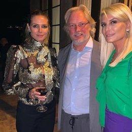 Heidi Klum'la 'Şen' buluşma...