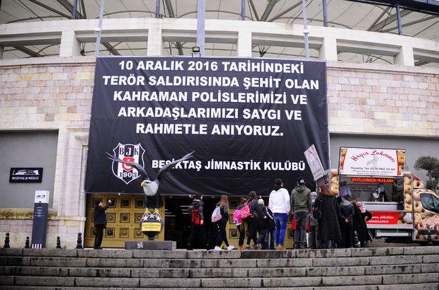 Beşiktaş şehitleri için anma töreni yapıldı