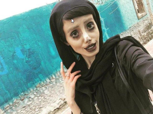 Sahar Tabar'ın tek amacı Angelina Jolie'ye benzemekti...
