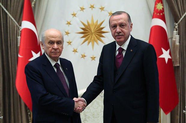 Erdoğan ile Bahçeli bir araya geliyor!