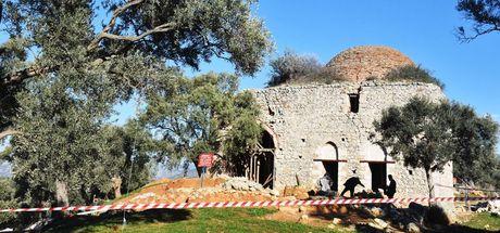 Antik kentteki Yelli Camisi 500 yıl sonra ibadete açılıyor