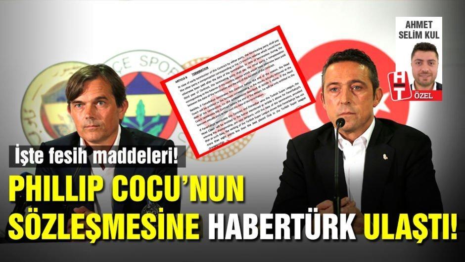 Cocu'nun sözleşmesine Habertürk ulaştı!