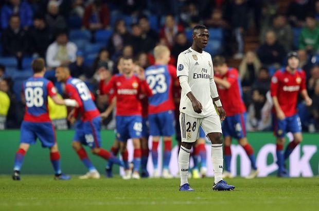 Real Madrid'e evinde şok