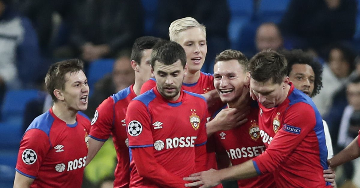 Biri tarihi iki Real Madrid zaferi, CSKA Moskovaya gruptan çıkmak için yetmedi 37