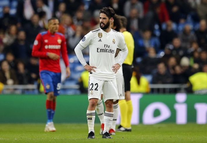 Biri tarihi iki Real Madrid zaferi, CSKA Moskovaya gruptan çıkmak için yetmedi 9