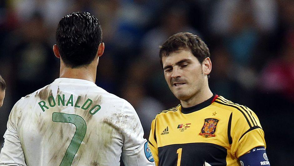 Ronaldo ve Casillas'tan rekor