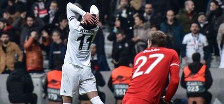 Beşiktaş Avrupa Ligi'ne veda etti