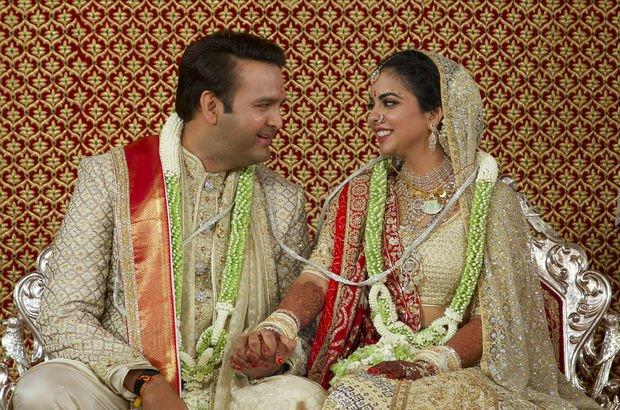 Dünyanın en pahalı düğünü unvanına sahip oldu!