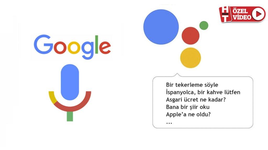 Google Asistan'ı Türkçe denedik