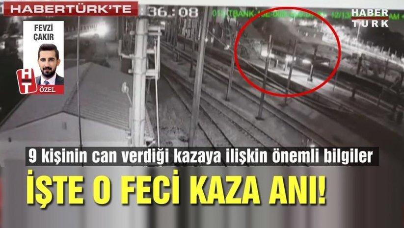 Ankaradaki tren kazasının görüntüleri ortaya çıktı!