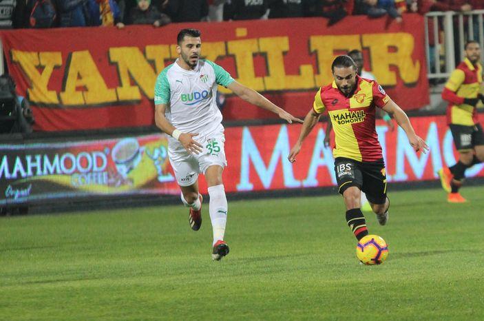 Göztepe: 0 - Bursaspor: 0 MAÇ SONUCU 55
