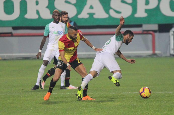 Göztepe: 0 - Bursaspor: 0 MAÇ SONUCU 38