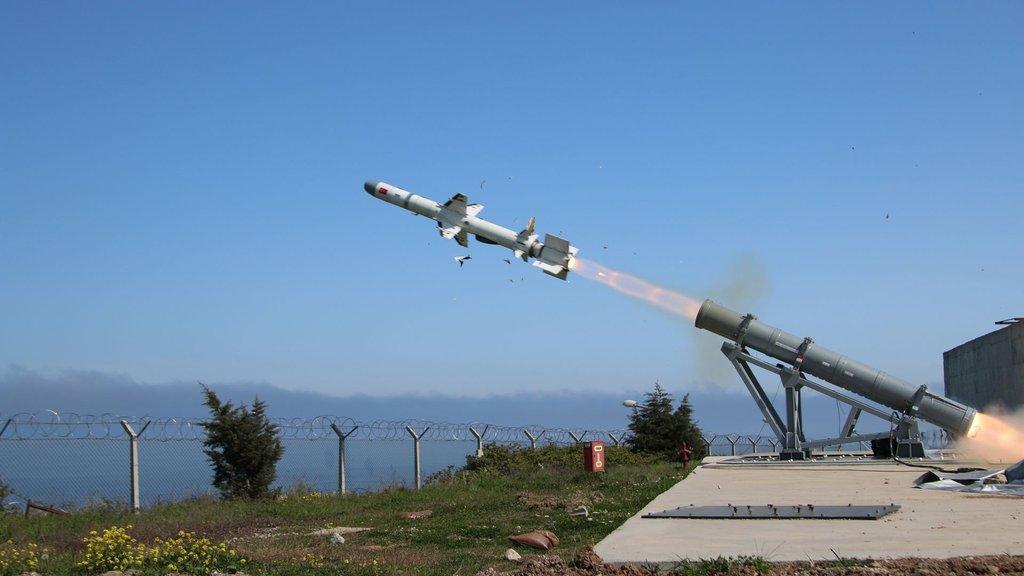 Türkiye'nin ilk deniz füzesinin seri üretimi başlıyor