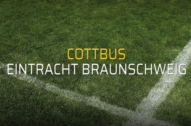 Maç sona erdi: Cottbus: 0 - Eintracht Braunschweig:1