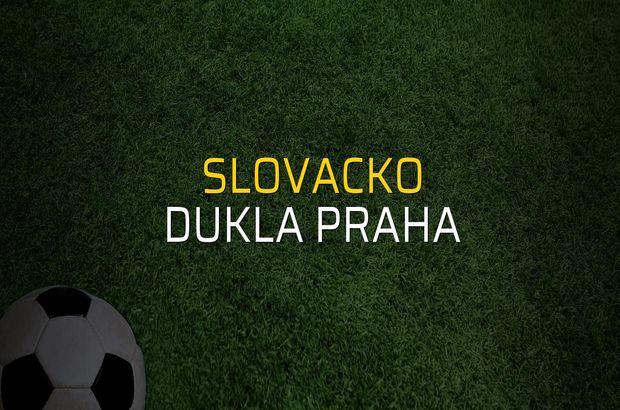 Slovacko: 1 - Dukla Praha: 0 (Maç sonucu)