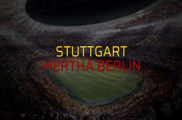 Stuttgart: 2 - Hertha Berlin: 1 (Maç sonucu)