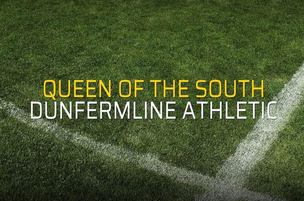 Maç sona erdi: Queen of the South: 0 - Dunfermline Athletic:0