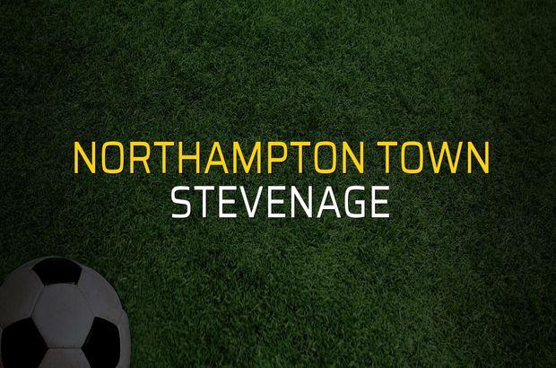 Northampton Town: 1 - Stevenage: 0 (Maç sona erdi)