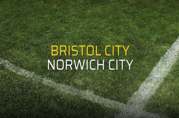 Bristol City: 2 - Norwich City: 2
