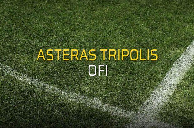 Asteras Tripolis: 1 - OFI: 1 (Maç sonucu)