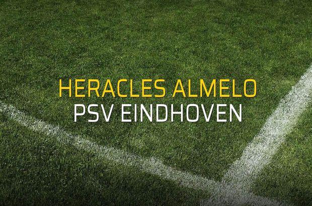 Maç sona erdi: Heracles Almelo: 0 - PSV Eindhoven:4