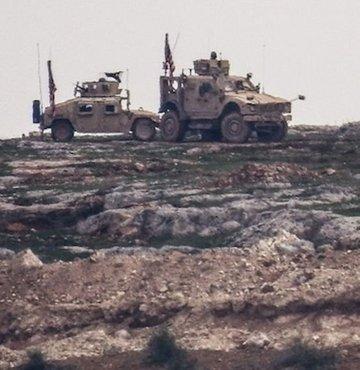 Menbiç kırsalında kameraya yansıdı! ABD nöbette PKK hendekte!