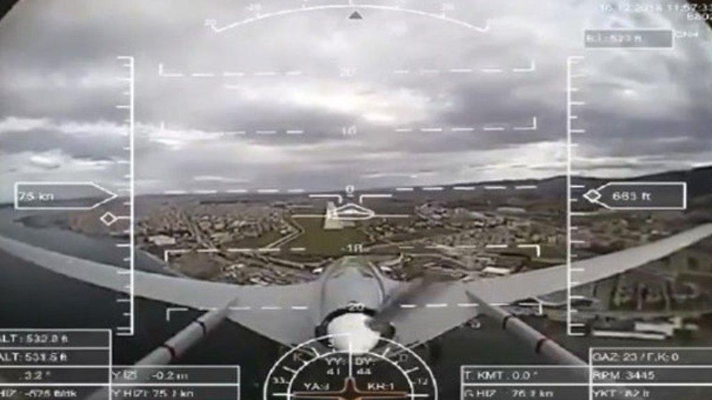 İlk uçuş gerçekleşti