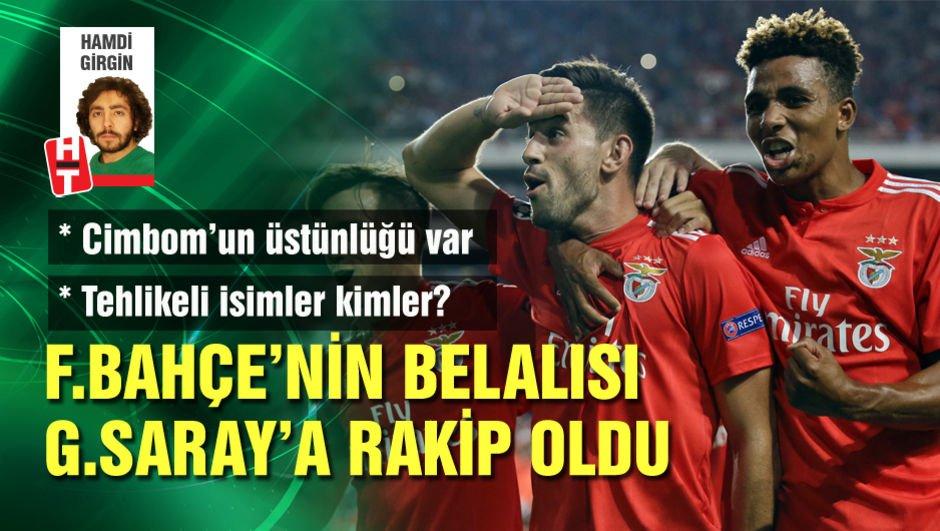 Fenerbahçe'nin belalısı Galatasaray'a rakip oldu!
