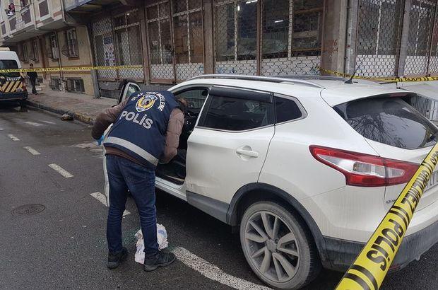 Gaziosmanpaşa'da cipe silahlı saldırı: 1 ağır yaralı