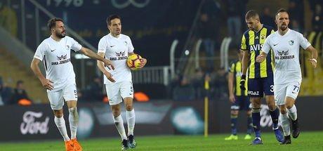 Fenerbahçe'ye uzatmada şok