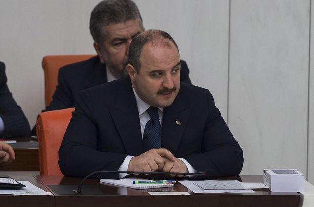 Sanayi ve Teknoloji Bakanı Mustafa Varank TBMM