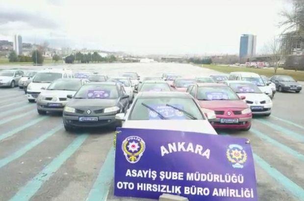 Otomobil çalarak 600 bin TL vurgun yapan çeteye operasyon: 13 gözaltı