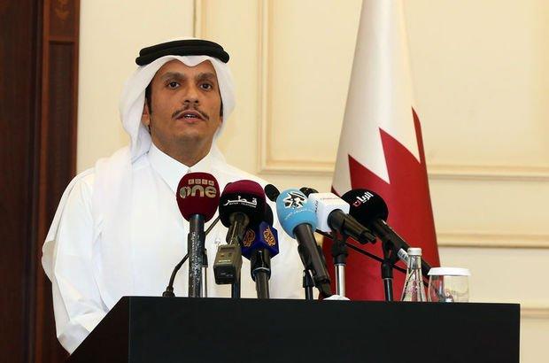 Katar'dan sert açıklama