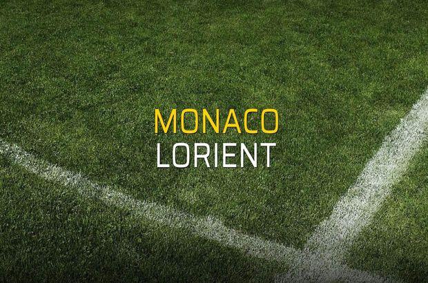 Monaco - Lorient maçı ne zaman?