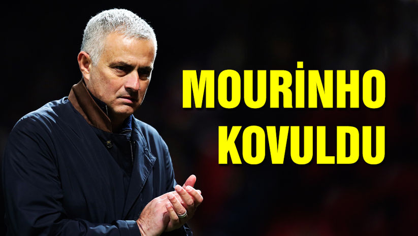 Jose Mourinho kovuldu