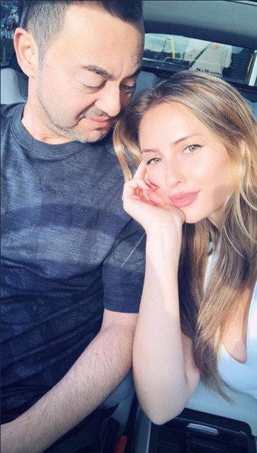 Serdar Ortaç ile Chloe Loughnan'dan romantik poz - Magazin haberleri