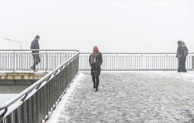 Tüm yurttan kış manzaraları