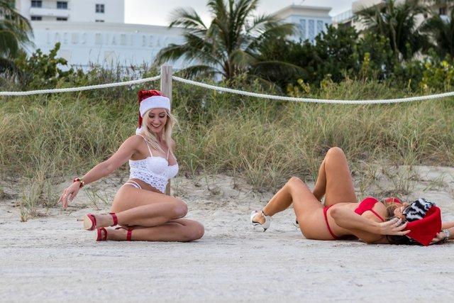 Claudia Romani ve Jessica Edstrom meraklı bakışların odağı oldu - Magazin haberleri